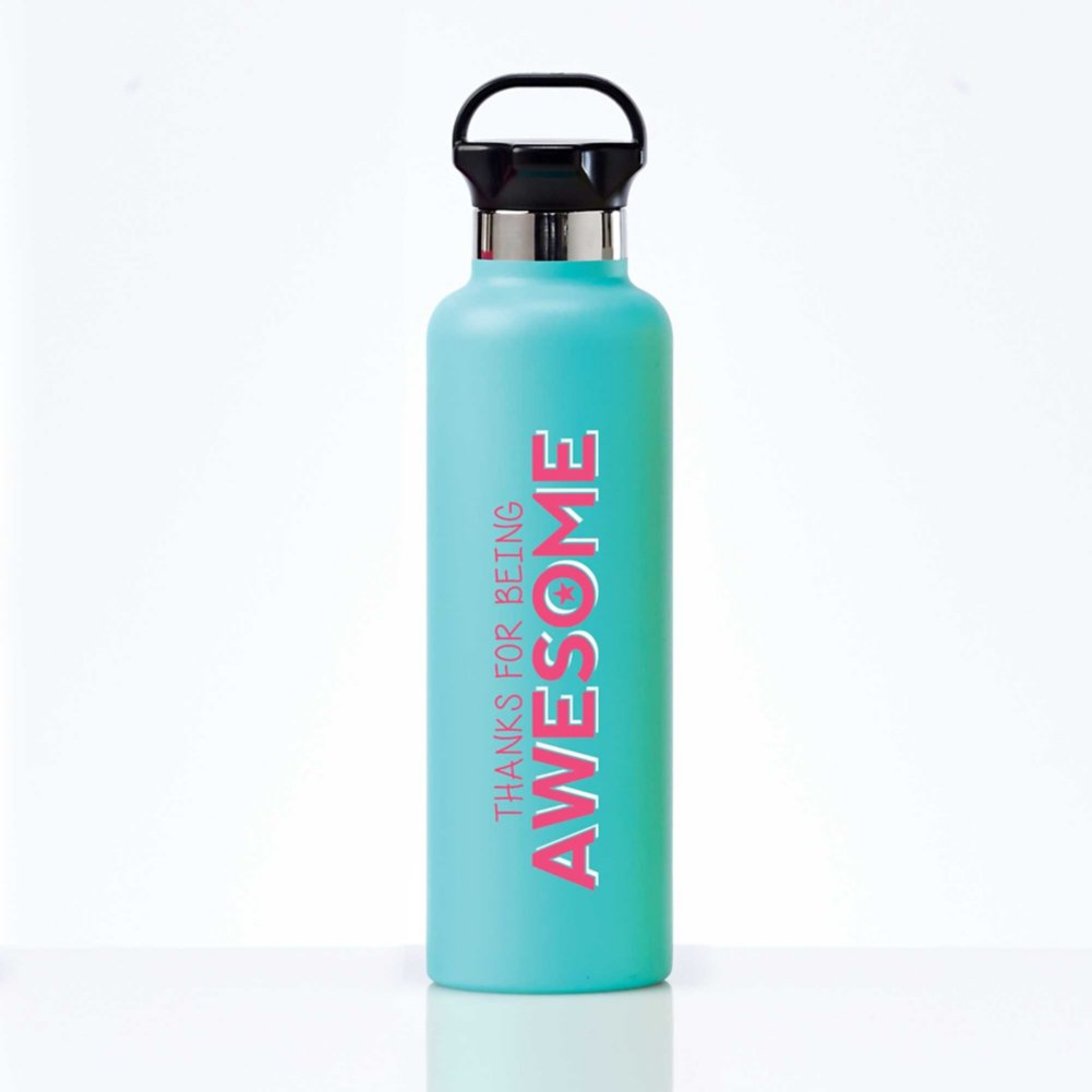 Stealth Stainless Bottle - Thanks For Being Awesome