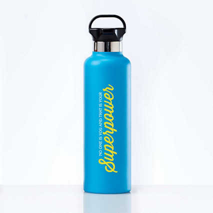Stealth Stainless Bottle - No One Is You: Superpower