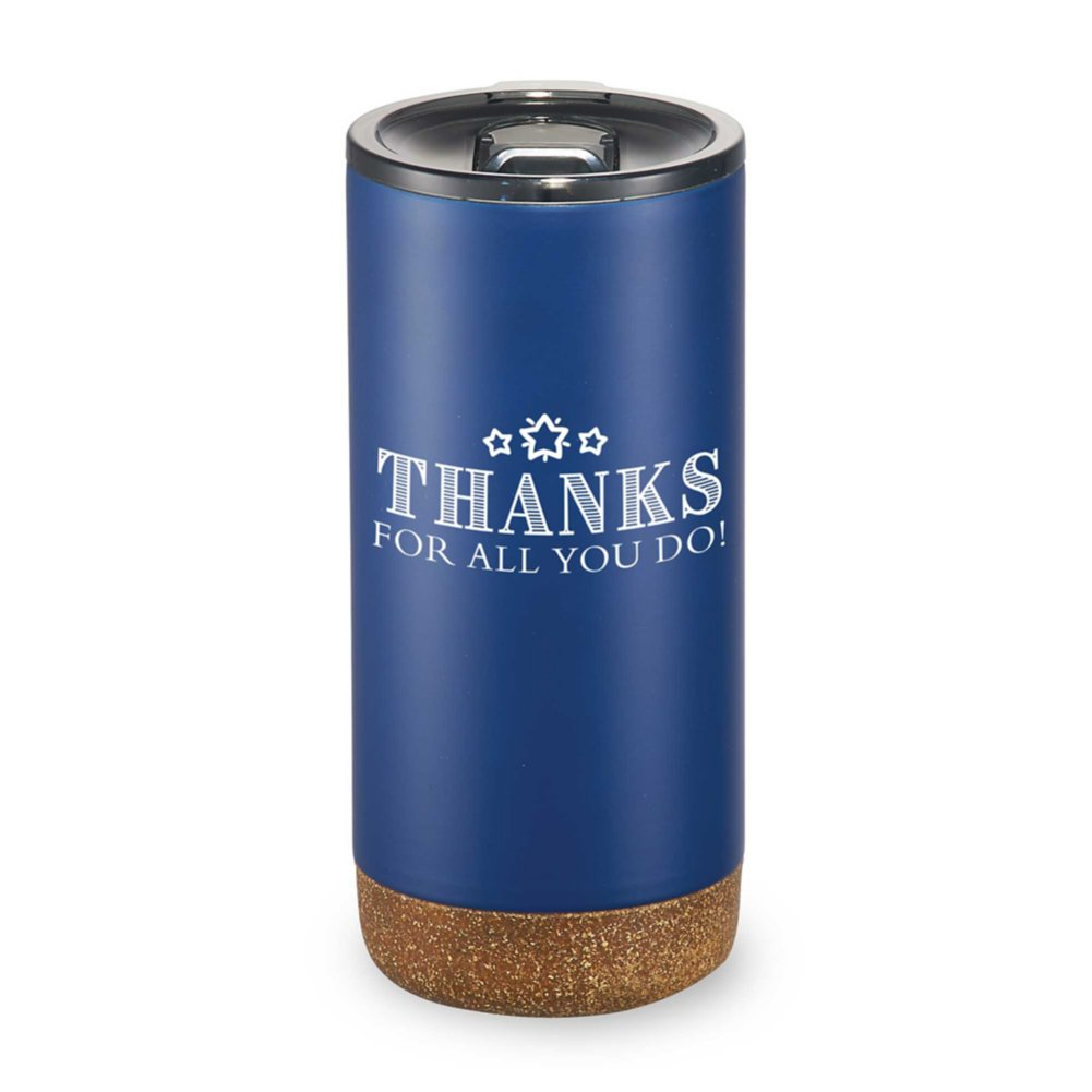 Valhalla Copper Vacuum Tumbler - Thanks For All You Do