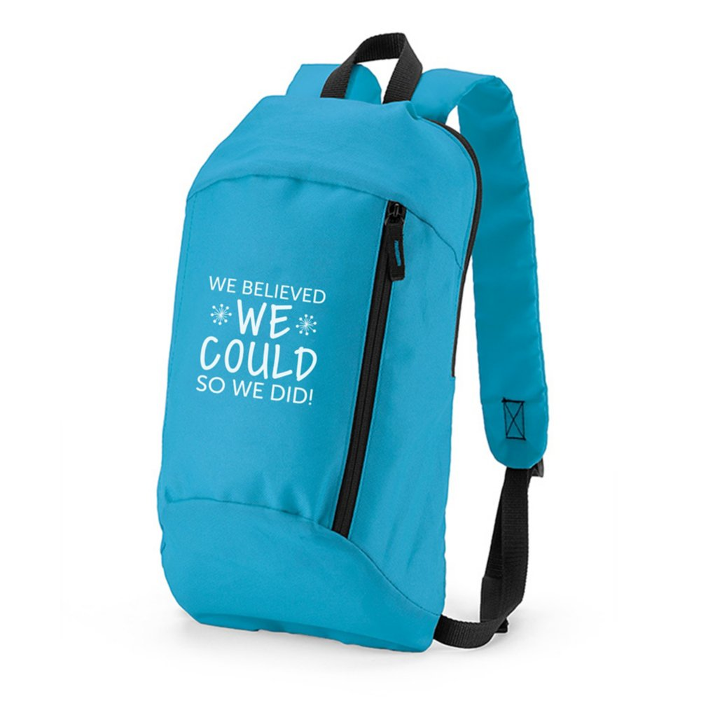 View larger image of Budget Backpack - We Believed We Could So We Did!