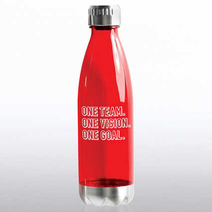 Value Bowie Bottle - One Team. One Vision. One Goal.