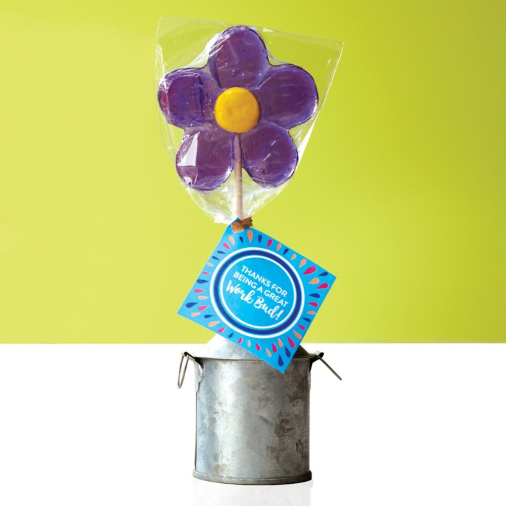 View larger image of Daisy Lollipop - Thanks For Being A Great Work Bud!