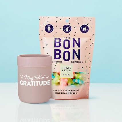 You're the Bon.com! - Mug Full of Gratitude