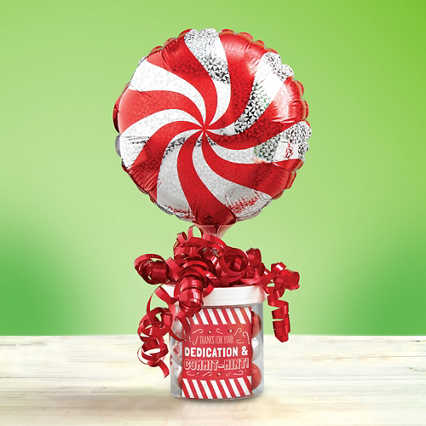 Filled with Joy Balloon Bouquet - Peppermint