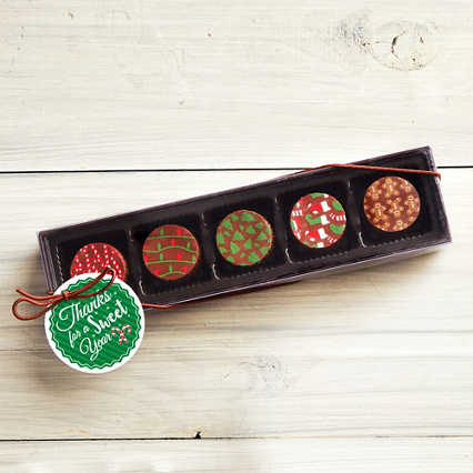 Holiday Artisan Truffle Gift Set - Sweet Year