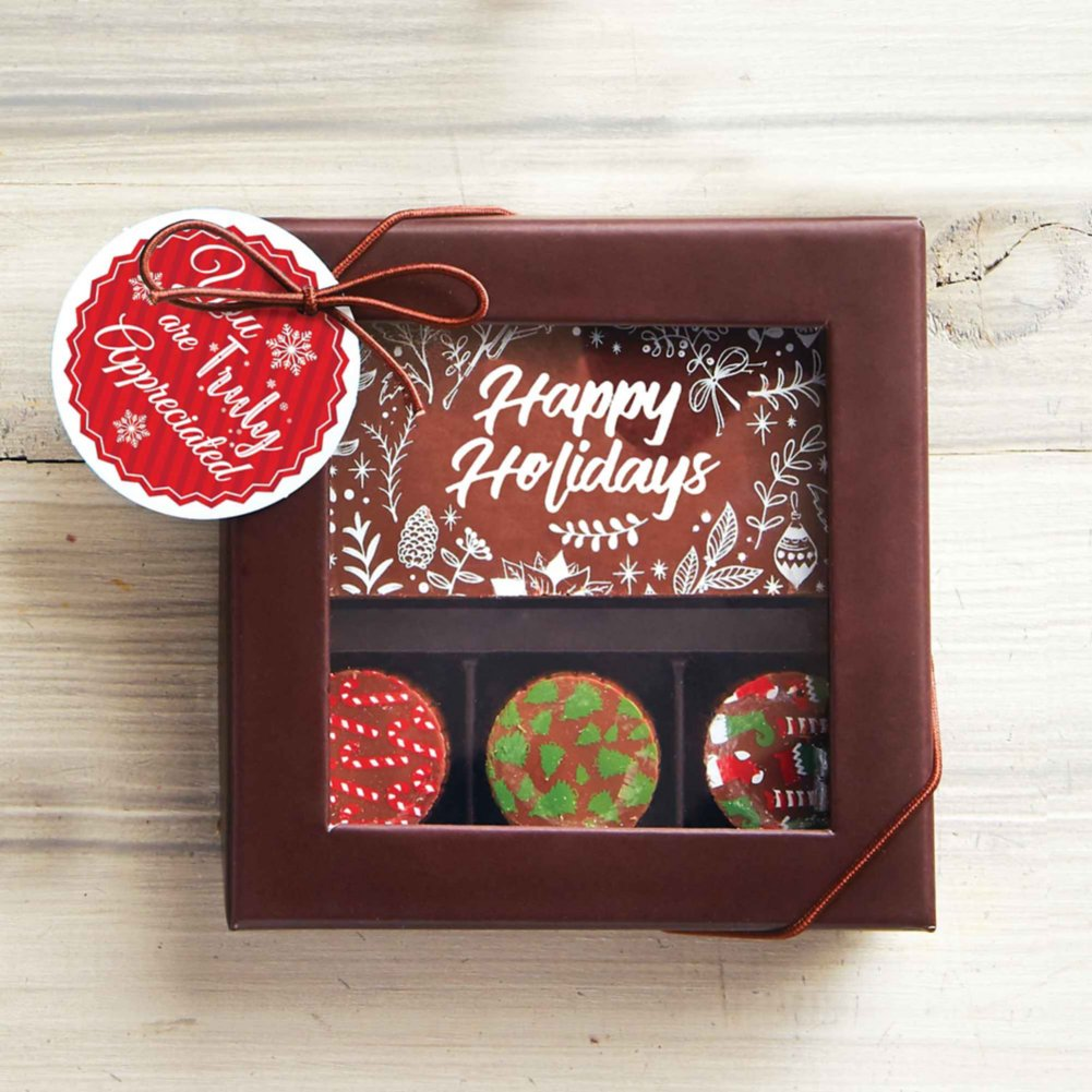 View larger image of Holiday Artisan Truffles &  Chocolate Bar- Truly Appreciated