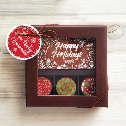 Holiday Artisan Truffles &  Chocolate Bar- Truly Appreciated
