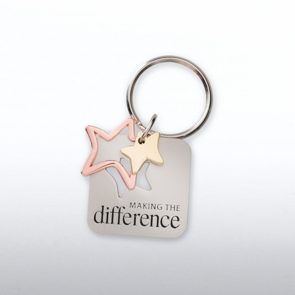 View larger image of Charming Copper Keychain - Making the Difference