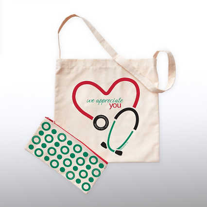 Totes Amazing Gift Set - We Appreciate You Stethoscope