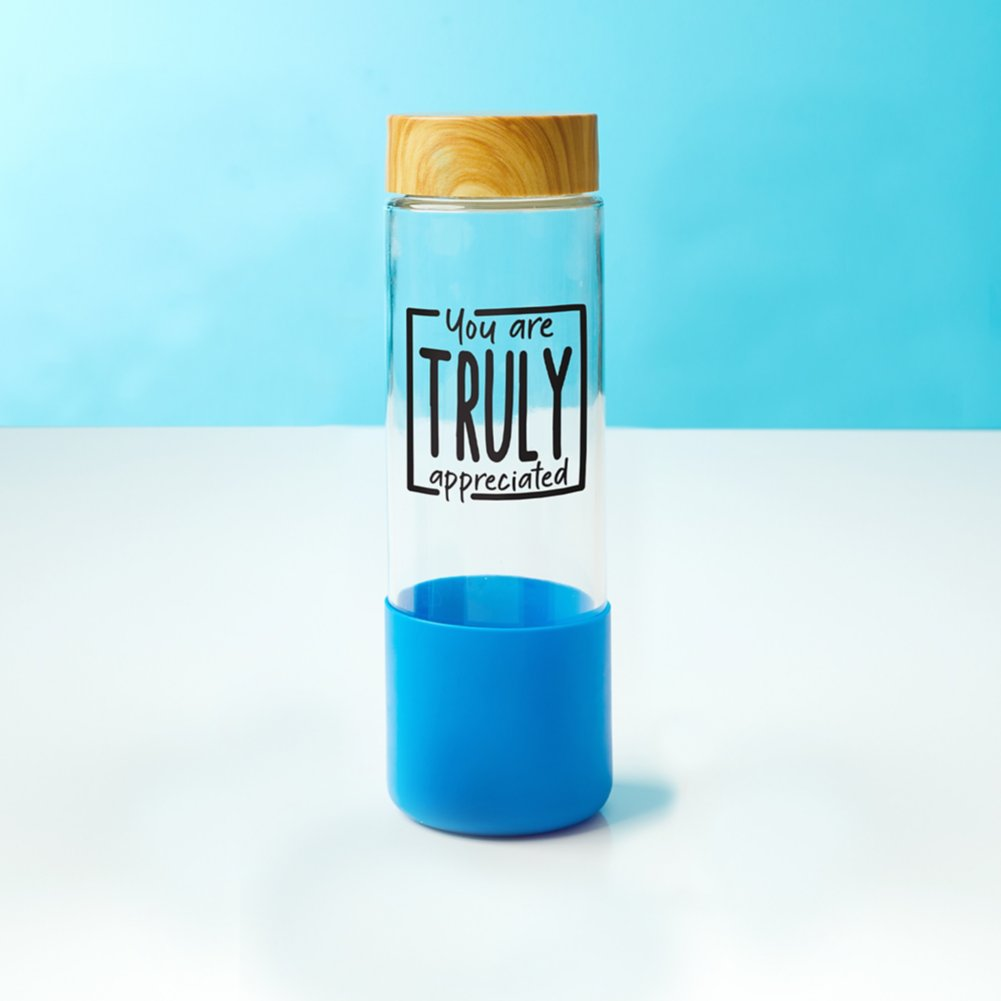 View larger image of Value Bamboo Water Bottle - Truly Appreciated