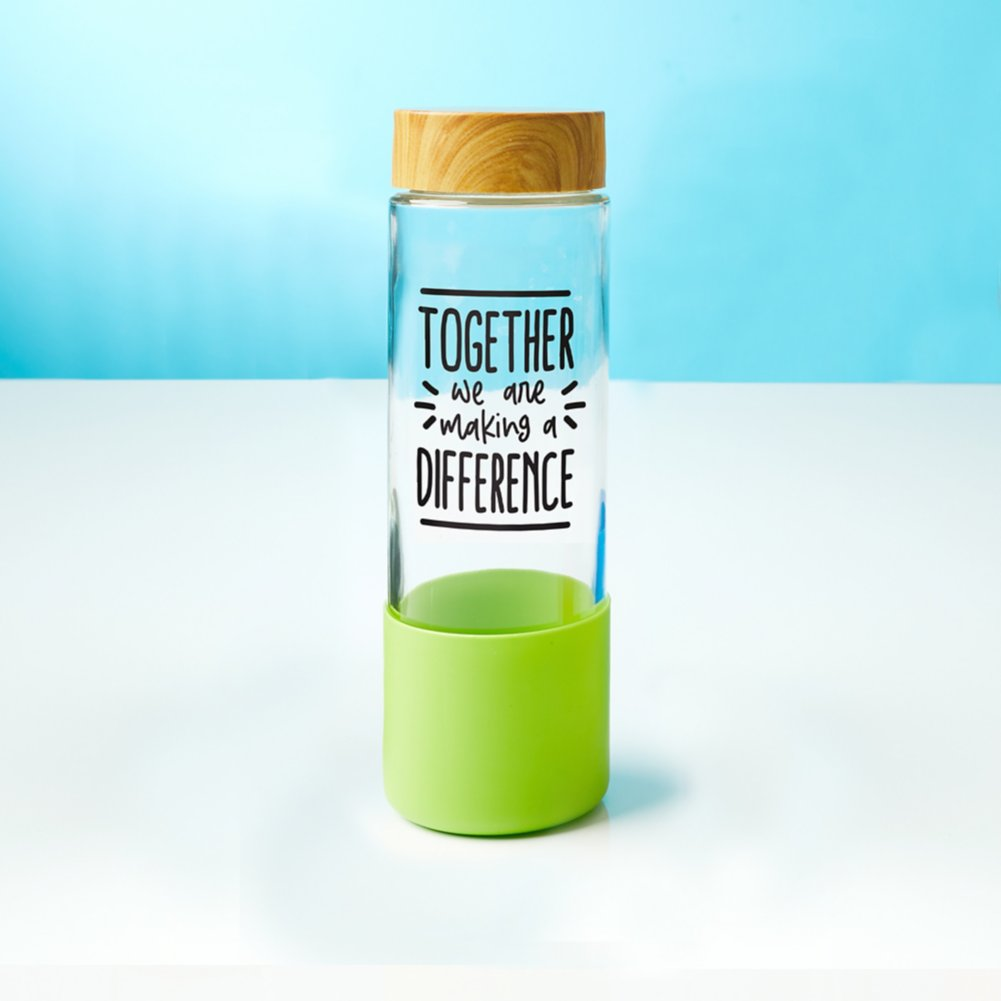 View larger image of Value Bamboo Water Bottle - Making A Difference