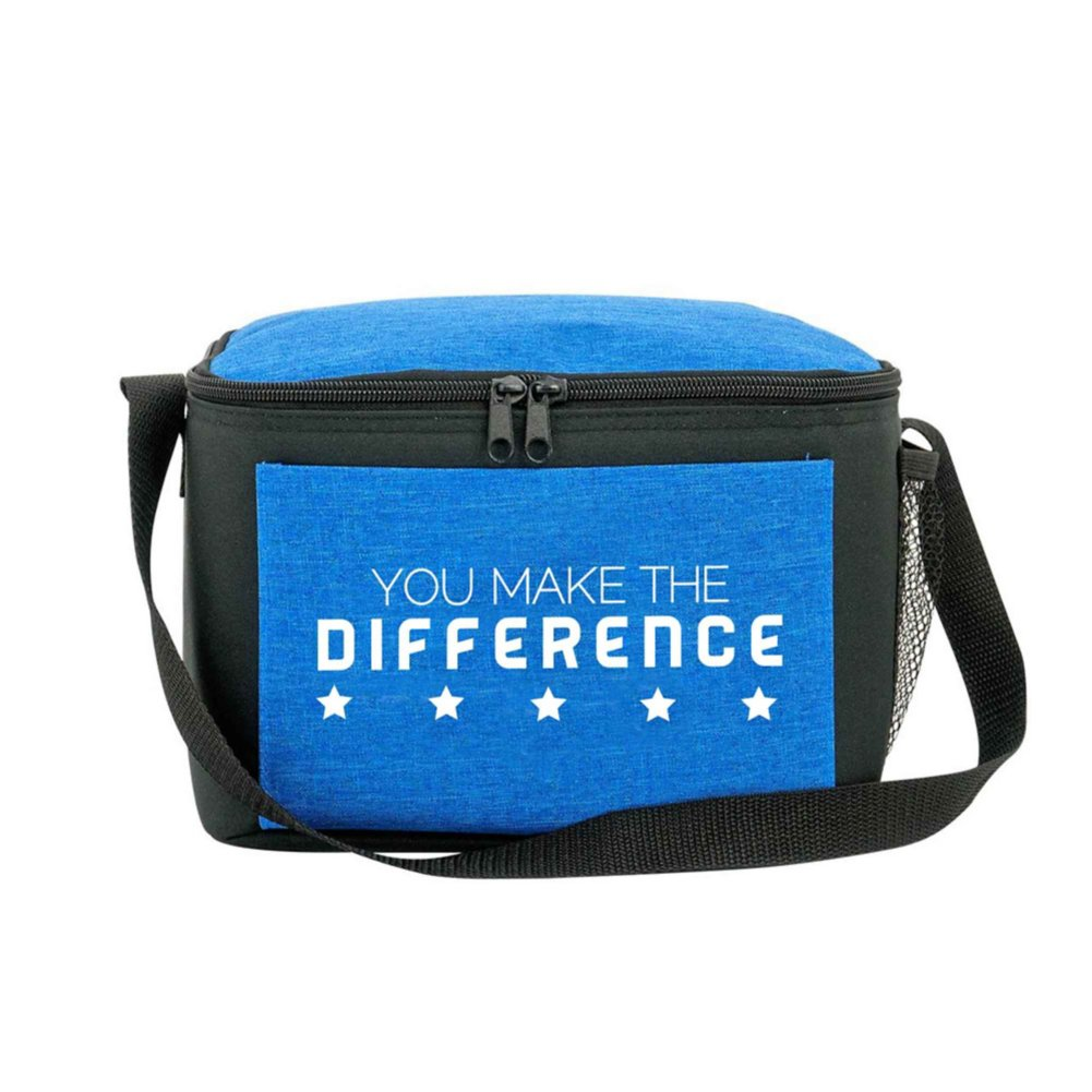 View larger image of Heathered Lunch Cooler Tote - You Make The Difference