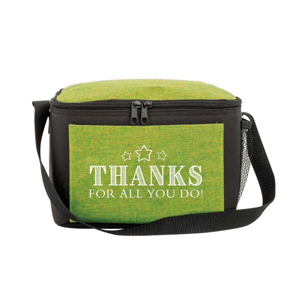 View larger image of Heathered Lunch Cooler Tote - Thanks For All You Do!