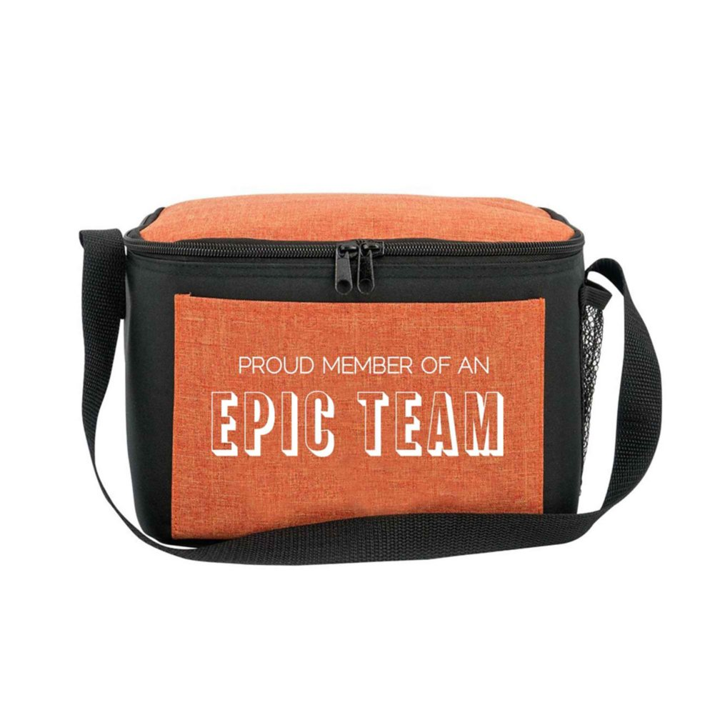 View larger image of Heathered Lunch Cooler Tote - Proud Member Of An Epic Team