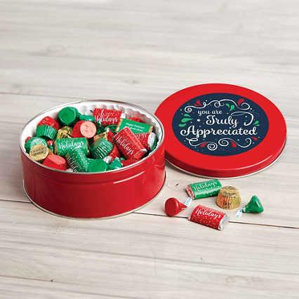 Hershey's Mix Holiday Tin