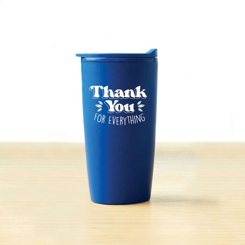 View larger image of Value Wheat Harvest Tumbler -  Thank You For Everything