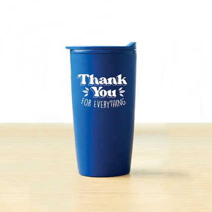 Value Wheat Harvest Tumbler -  Thank You For Everything