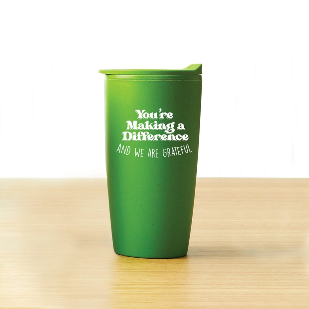 View larger image of Value Wheat Harvest Tumbler -  Making A Difference