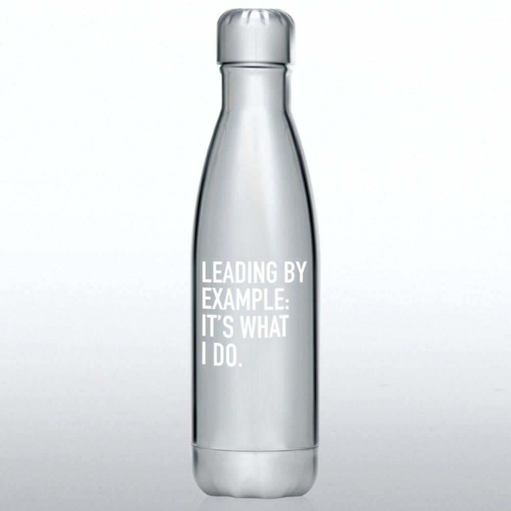 View larger image of Metallic Bowie Water Bottle - Leading by Example