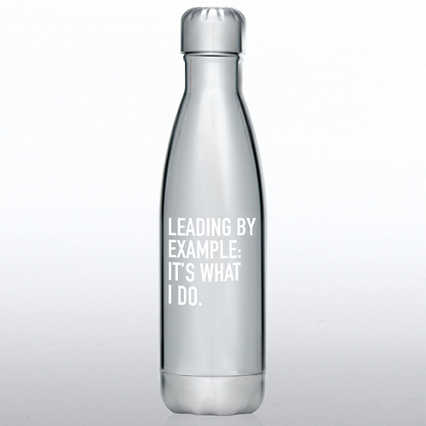 Metallic Bowie Water Bottle - Leading by Example