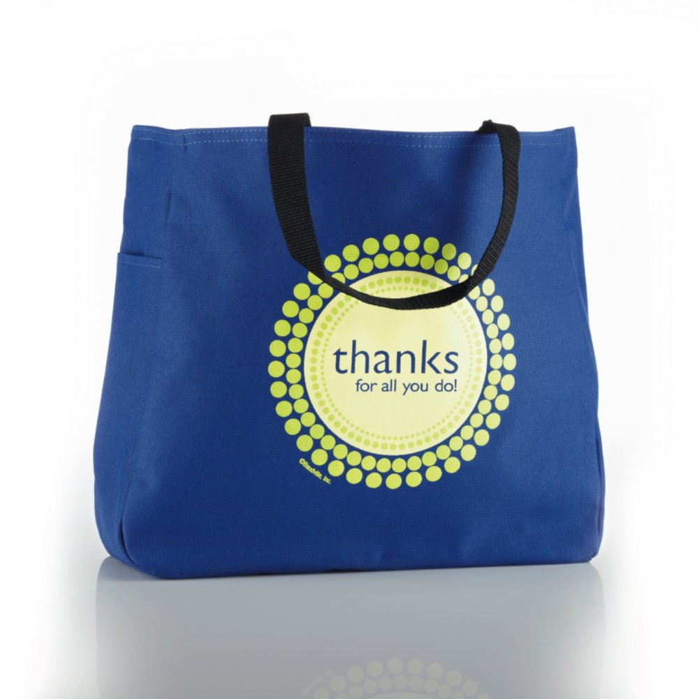 View larger image of Tote Bag - Thanks for All You Do!