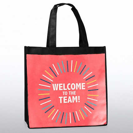 Stylin' Shopper Tote - Welcome To The Team!