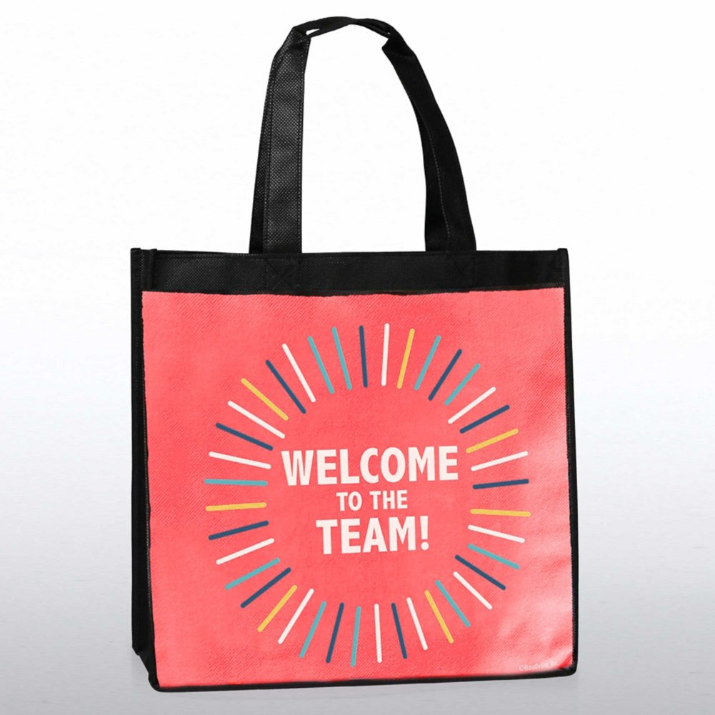 View larger image of Stylin' Shopper Tote - Welcome To The Team!