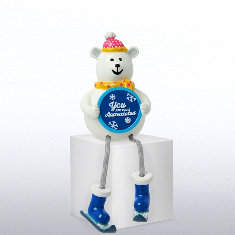 Holiday Shelfee - Polar Bear - You are Truly Appreciated
