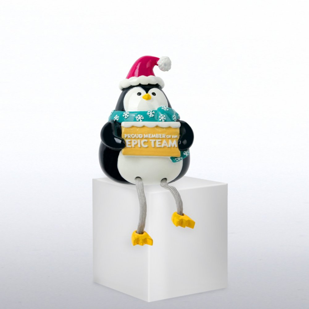 View larger image of Holiday Shelfee - Penguin - Proud Member of an Epic Team