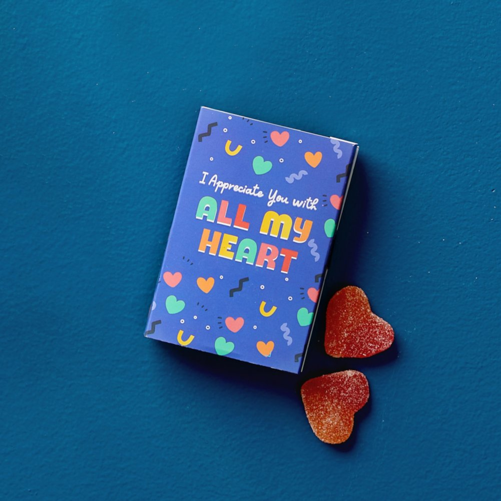 View larger image of You're a Treat Candy Post - All My Heart