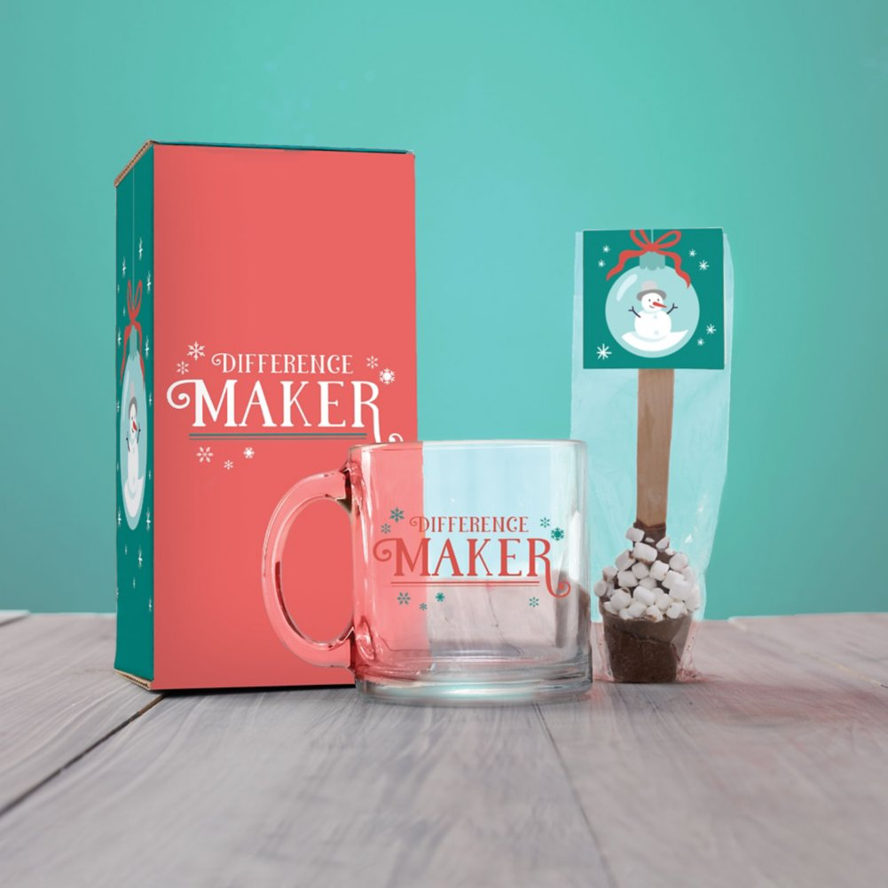 View larger image of Grateful Mug & Hot Cocoa Gift Sets - Difference Maker