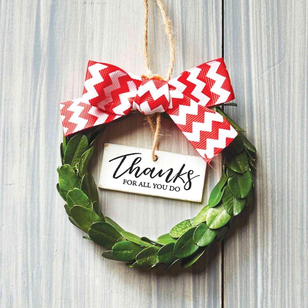 Heartfelt Appreciation Wreath - Thanks For All You Do