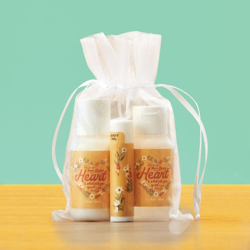 View larger image of Zen-sational Gift Set - Your Heart Sets You Apart