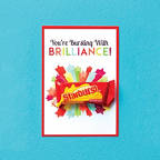 View larger image of Candy Coated Cards - You're Bursting with Brilliance!