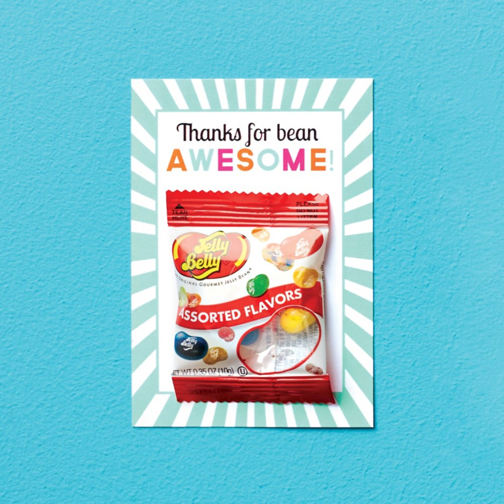 View larger image of Candy Coated Cards - Thanks for Bean Awesome!