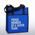 View larger image of Chevron Shopper Tote - Proud Member of a Super Team