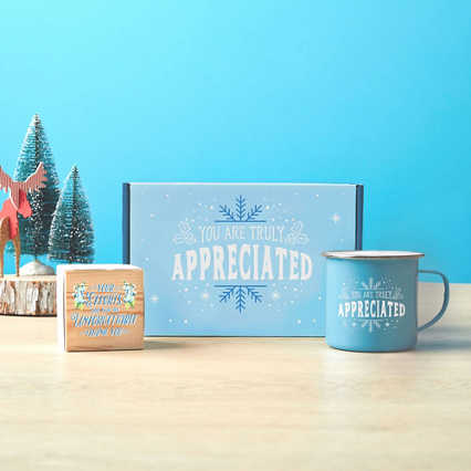 Joyful Duo: Mug & Plant Cube Gift Sets - You are Truly Appreciated