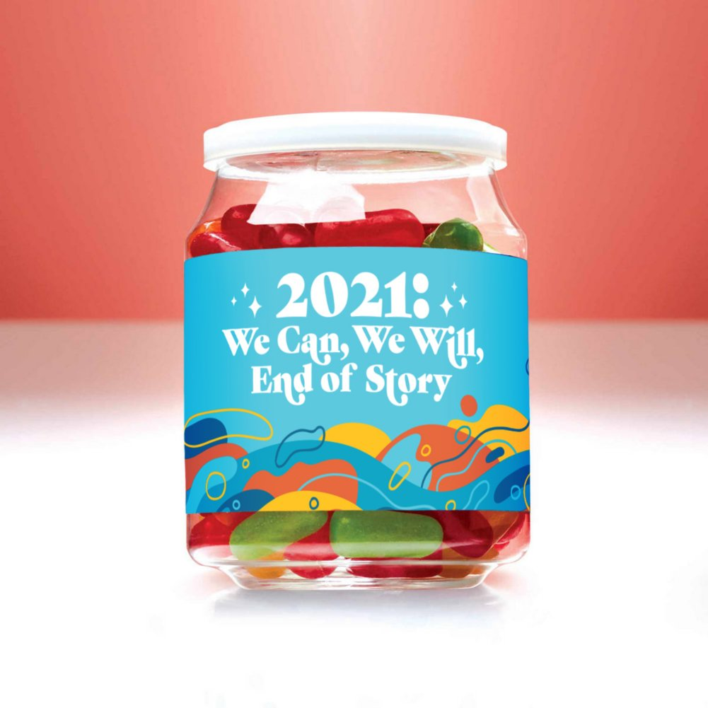 View larger image of Candy Jar - 2021: We Can, We Will