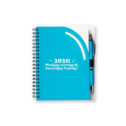 Color Pop Value Journal & Pen - 2021: Succeeding Together