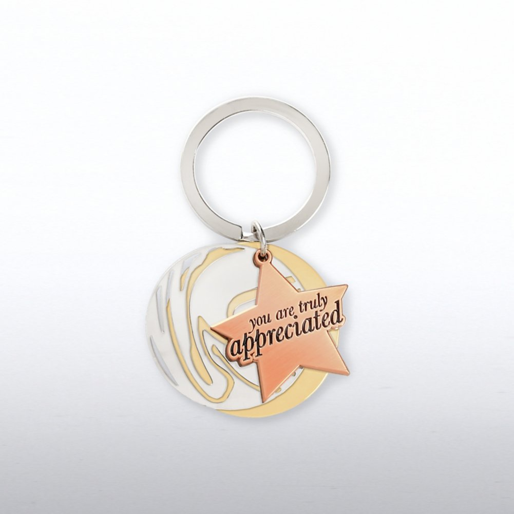 View larger image of Charming Copper Key Chain - You Are Truly Appreciated