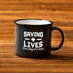 View larger image of Campfire Mug - Saving Lives