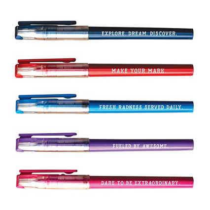 Write Stuff Pen Pack - Inspirations