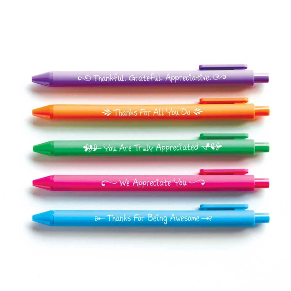 View larger image of Colorful Pen Pack - Smart Sayings