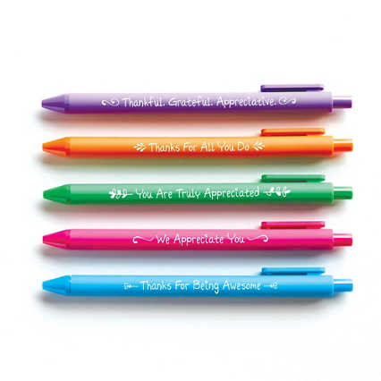Colorful Pen Pack - Smart Sayings