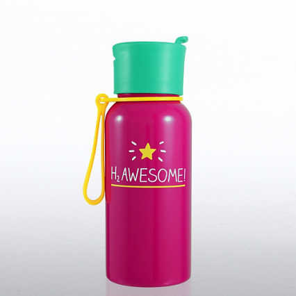 Happy Jackson - H2 Awesome Water Bottle