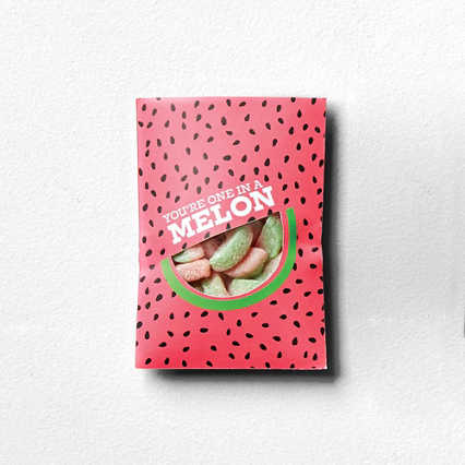 Sweet as Candy Card - You Are One In A Melon