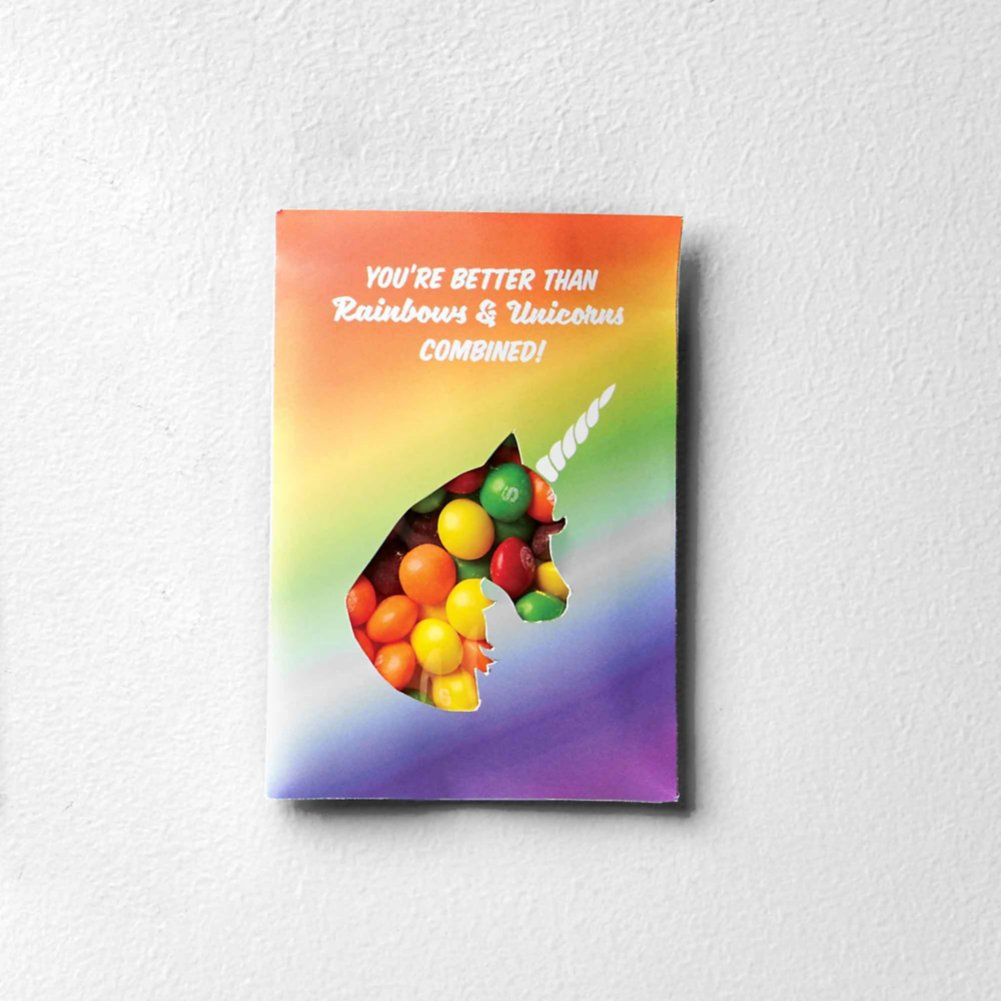 View larger image of Sweet as Candy Card - You are Better than Rainbows