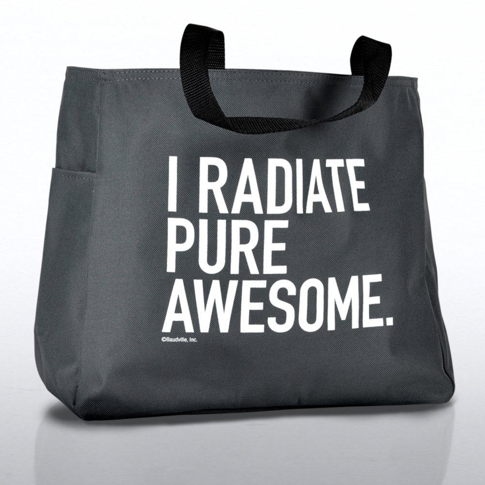 Tote Bag - Exclamations - I Radiate Pure Awesome