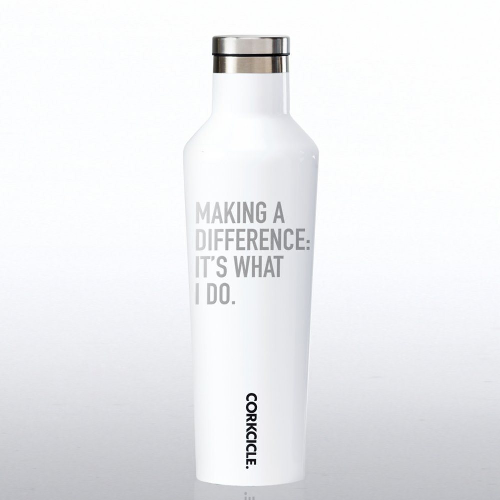 View larger image of Corkcicle Canteen - Making a Difference: It's What I Do