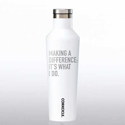 Corkcicle Canteen - Making a Difference: It's What I Do